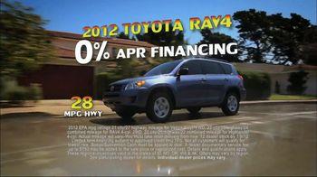 Toyota Summer Sales Drive TV Spot, '2012 Models' Song by Lindsey Buckingham - Thumbnail 4
