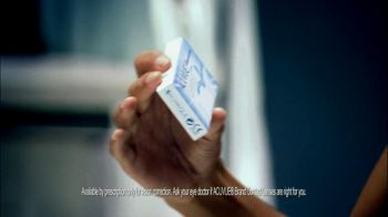 ACUVUE  Hydraclear Plus Oasys Contacts TV Spot, 'Know the Feeling?' - Thumbnail 4