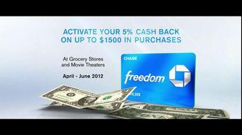 Chase Freedom TV Spot, 'Man in Freezer' - Thumbnail 9