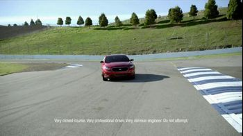 2013 Ford Taurus TV Spot, 'Voice Command' Featuring Carl Edwards - Thumbnail 4