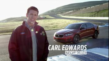 2013 Ford Taurus TV Spot, 'Voice Command' Featuring Carl Edwards
