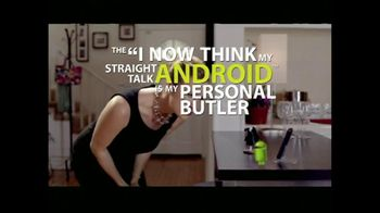 Straight Talk Wireless TV Spot For Andrew Android Butler - Thumbnail 5