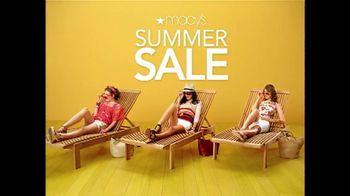 Macy's TV Spot For Summer Sale 2012