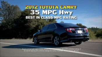 Toyota Summer Sales Drive TV Spot, '2012 Camry' Song by Lindsey Buckingham - Thumbnail 5