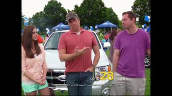 Ford Summer Sales Event TV Spot, 'Escape in the Escape' Feat. Mike Rowe - 131 commercial airings