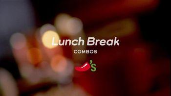 Chili's TV Lunch Break Combos TV Spot, 'Quesadillas and Burger Bites' - Thumbnail 1