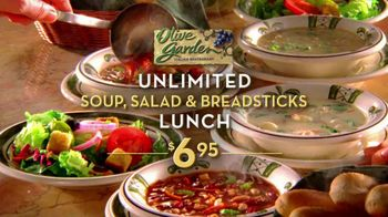 Olive Garden TV Spot, 'Unlimited Soup, Salad and Breadsticks' - Thumbnail 5