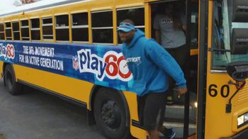 NFL Play 60 TV Spot, 'The Bus' Featuring Calvin Johnson - Thumbnail 8