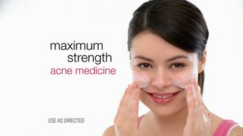 Neutrogena TV Spot For Oil-Free Acne Wash Featuring Miranda Cosgrove