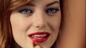 Revlon TV Spot For Super Lustrous Lipstick Featuring Emma Stone - Thumbnail 3