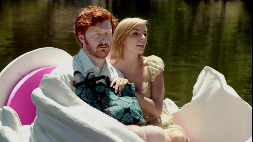 Slim Jim Steakhouse Strips TV Commercial, 'Swan Boat'