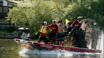Slim Jim Steakhouse Strips TV Spot, 'Swan Boat' - Thumbnail 1