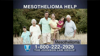 The Johnson Law Group TV Spot For Mesothelioma - Thumbnail 1