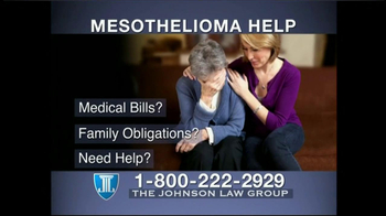 The Johnson Law Group TV Spot For Mesothelioma - 21 commercial airings