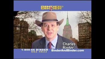 Binder and Binder TV Spot For Social Security Benefts