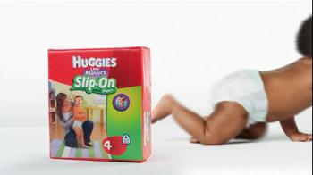 Huggies TV Spot For Little Movers Slip-On Diapers - Thumbnail 6