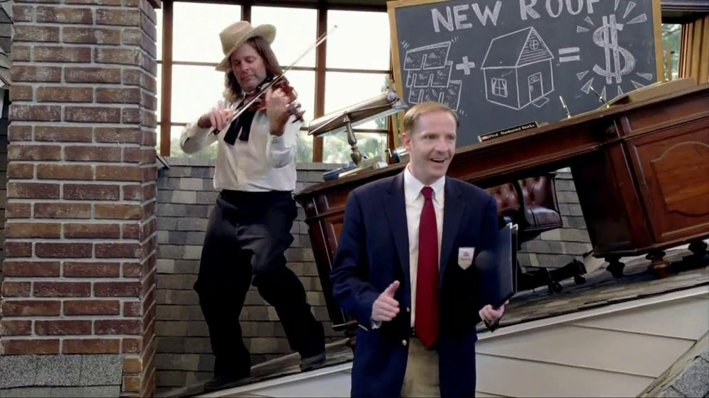 Farmers Insurance TV Commercial, 'Roof Discounts' - iSpot.tv