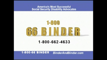 Binder and Binder TV Spot For Social Security - Thumbnail 10