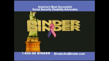 Binder and Binder TV Spot For Social Security