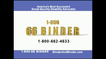 Binder and Binder TV Spot For Social Security - Thumbnail 8