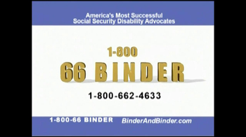 Binder and Binder TV Spot For Social Security - Thumbnail 9