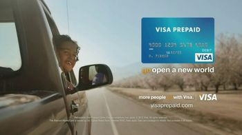 VISA Prepaid TV Spot, 'Father and Daughter Driving'