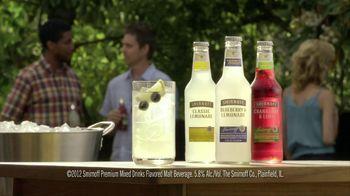 Smirnoff TV Spot For Blueberry and Lemonade Cooler Bartender - Thumbnail 6