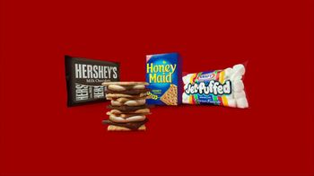 Target TV Spot For S'mores Ingredients Featuring Cavemen - Thumbnail 4