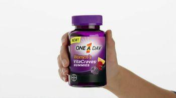 One A Day Women's VitaCraves Gummies TV Spot