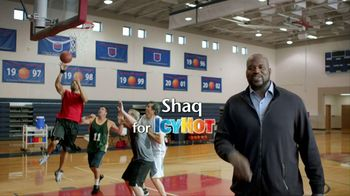 Icy Hot Medicated Patch TV Spot Featuring Shaquille O'Neal - Thumbnail 1