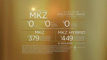 2012 Lincoln MKZ Discovery Drive TV Spot - Thumbnail 8