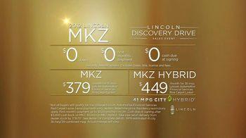 2012 Lincoln MKZ Discovery Drive TV Spot - Thumbnail 7