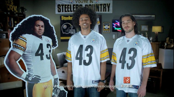 Head & Shoulders Living Flake-Free Featuring Troy Polamalu - 3874 commercial airings