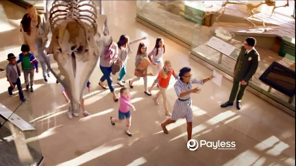 Payless Shoe Source TV Commercial Museum