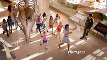 Payless Shoe Source TV Spot Museum