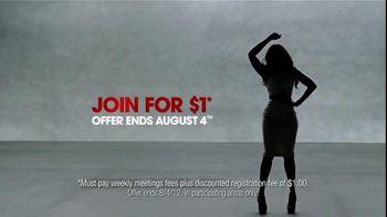 Weight Watchers TV Spot Featuring Jennifer Hudson - 16 commercial airings
