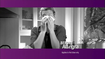 Allegra TV Spot, 'Before and After' - Thumbnail 1