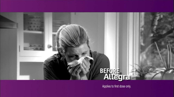 Allegra TV Spot, 'Before and After' - Thumbnail 2