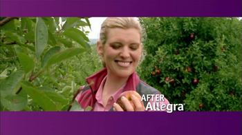 Allegra TV Spot, \'Before and After\'