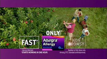 Allegra TV Spot, 'Before and After' - Thumbnail 5