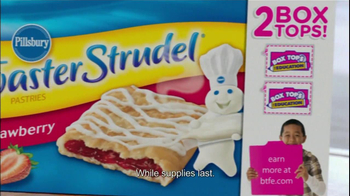 Pillsbury Toaster Strudel  TV Spot, 'Back to School Breakfast' - Thumbnail 8
