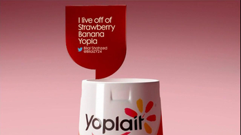 Yoplait Original Strawberry Banana TV Spot, 'Bilal's Tweet' - 13 commercial airings
