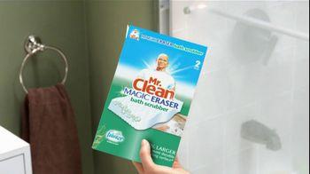 Mr. Clean Magic Eraser Bath Scrubber TV Spot 'Crazy Clean'