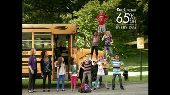 Burlington Coat Factory TV Spot For School Clothes