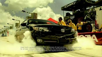 2012 Toyota Camry TV Spot, 'Transformation' Featuring Kyle Busch - Thumbnail 5