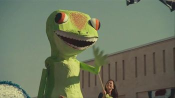 GEICO Car Insurance TV Spot, 'Military Parade Gecko Float' - 4072 commercial airings