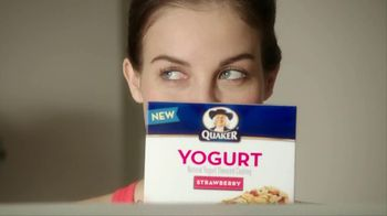 Quaker Strawberry Yogurt Granola Bars TV Spot, 'Yummy Good' - 1288 commercial airings