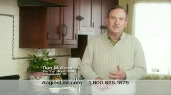 Angie's List TV Spot For Saving Time And Money