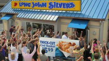 Long John Silver's Thick-Cut Cod Basket TV Spot, 'Crowd' - 1 commercial airings
