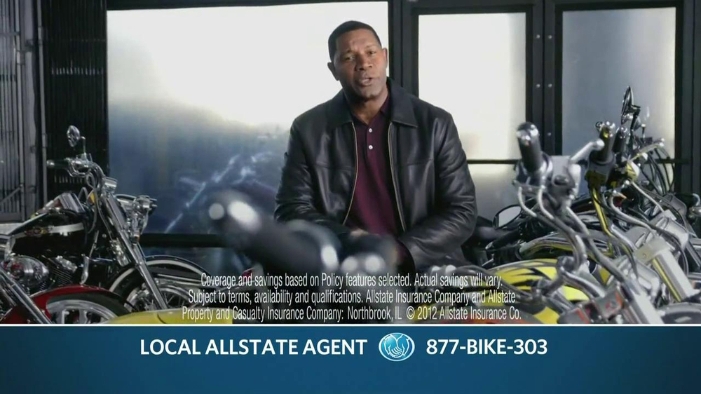 Allstate TV Commercial For Motorcycle Insurance Featuring Dennis Haysbert